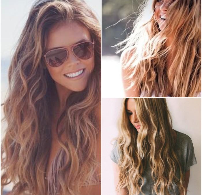 Summer hair all year long.