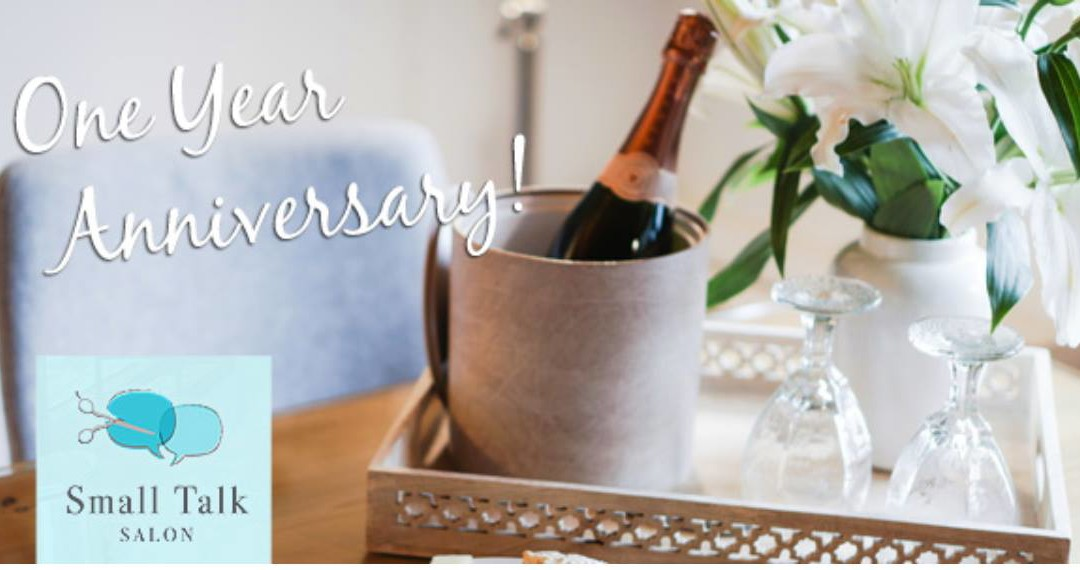 It's Our One Year Anniversary!