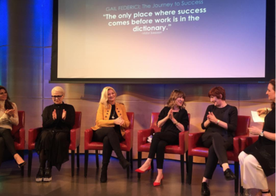 Such an intimate setting with many of our industry's female leaders and innovators.