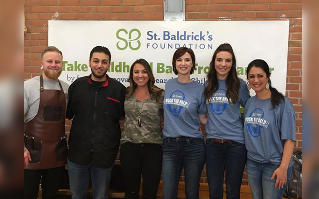 North Haven St Baldrick's Event