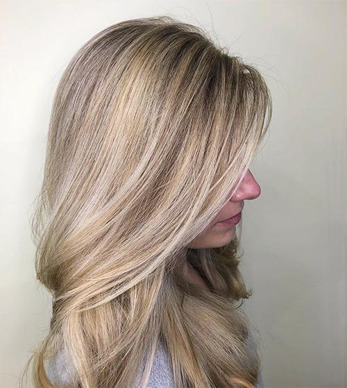 blonde hair coloring