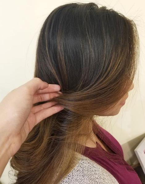 lowlight hair color